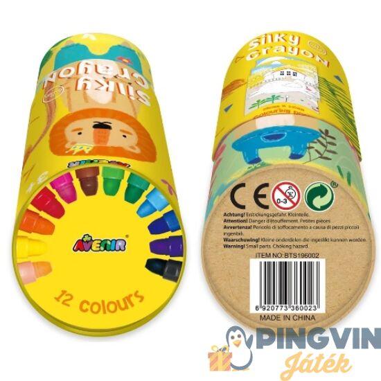 Avenir Kids - 3 az 1-ben - kréta poszterrel 12db-os készlet-oroszlánok (BTS196002)