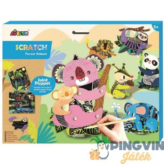 Avenir Kids - Modellkészítés karckép technikával-erdei állatok (CH191685)