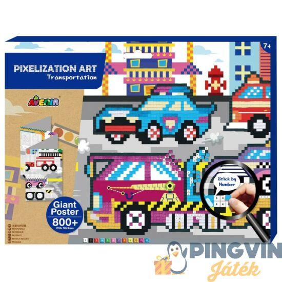 Avenir Kids - Pixel technika-közlekedés ( CH191596)