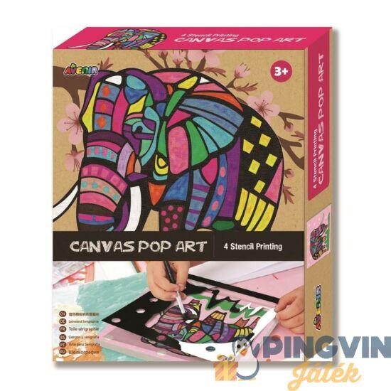 Avenir Kids - Vászonkép festés-elefánt (CH1342)