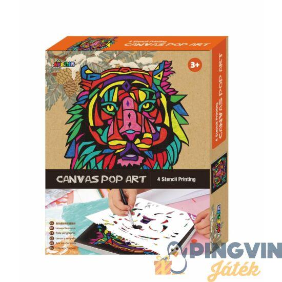 Avenir Kids - Vászonkép festés-tigris (CH1343)