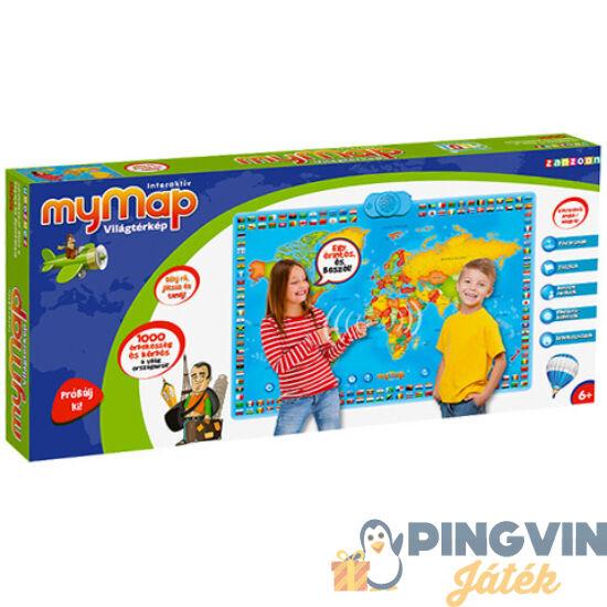 Az én Világtérképem interaktív társasjáték - Flair Toys