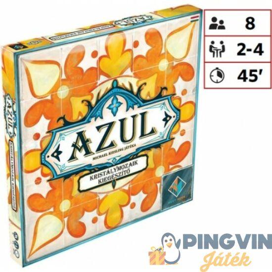 Asmodee - Azul Kristálymozaik-kiegészítő logikai társasjáték (PLB10006)
