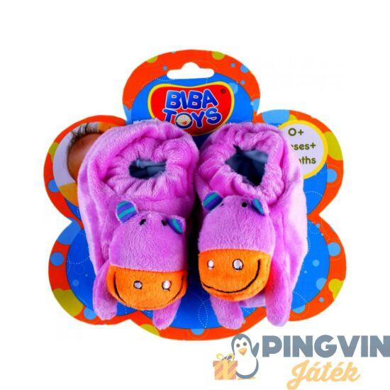 Biba Toys - Bébicipő csörgő lapon
