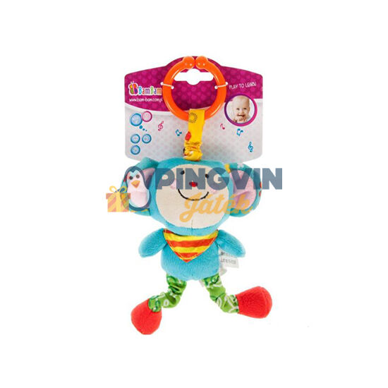 B-Toys - Vibráló majom plüss fejlesztő bébijáték (377119)