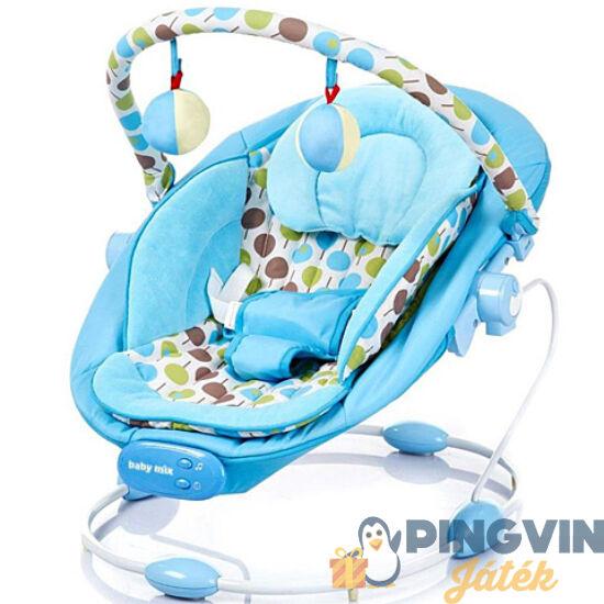 Alexis - Zenélő babafotel rezgő funkcióval kék színben