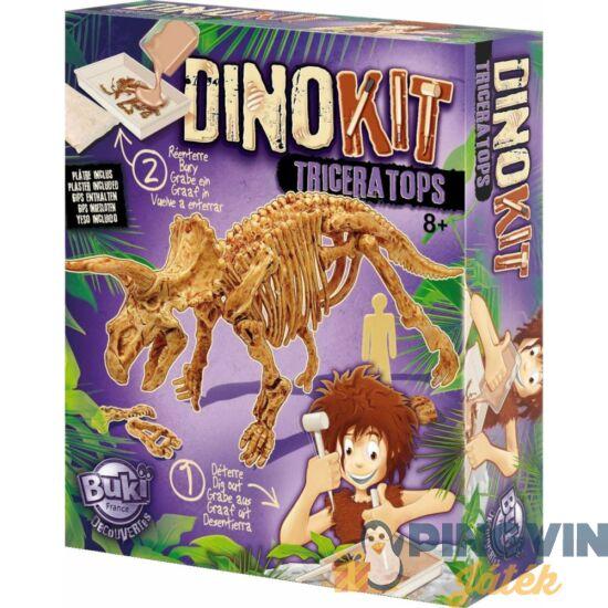 Buki - Dínó felfedező készlet Triceratops