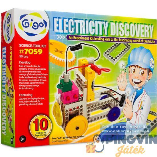 BUKI Tudományos készlet elektromosság