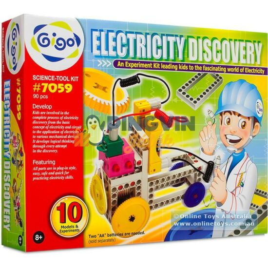 Buki -Tudományos készlet elektromosság