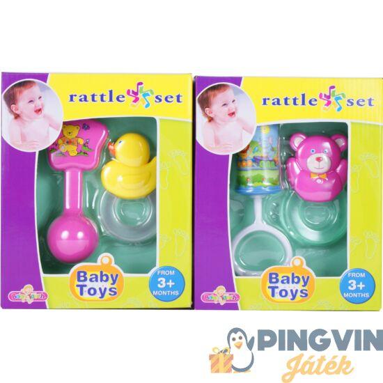 Baby Toys - Csörgő+rágóka