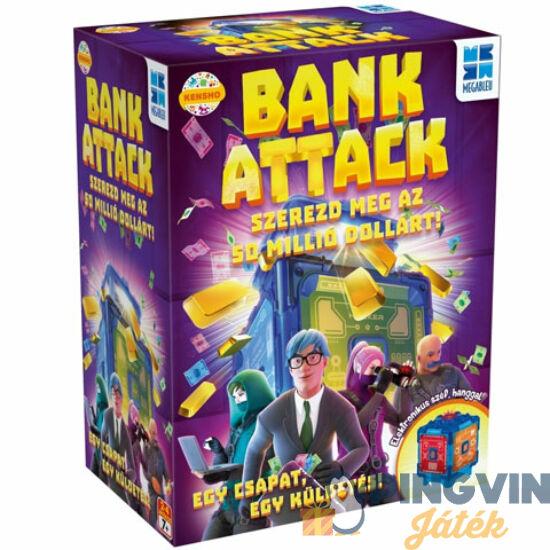 Megableu: Bank Attack társasjáték - Flair Toys