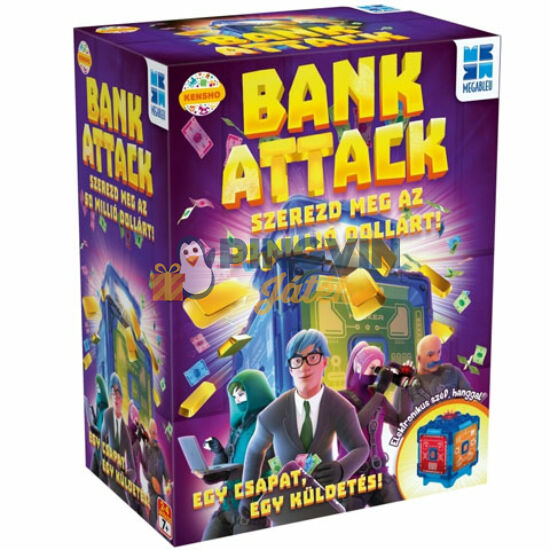 Megableu: Bank Attack társasjáték - Flair Toys