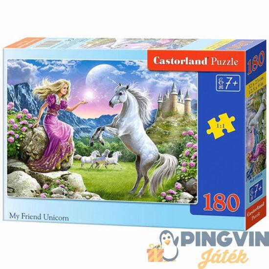 Barátom az unikornis 180db-os puzzle - Castorland