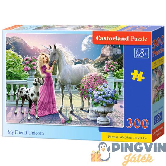 Castorland - Barátom az unikornis 300db-os puzzle (B-030088)