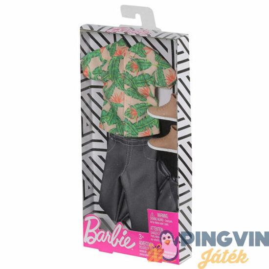 Mattel - Barbie Ken baba ruhaszett pálmaleveles inggel (FKT44/FXJ39)