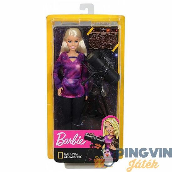 Mattel - Barbie National Geographic csillagász baba (GDM44/GDM47)