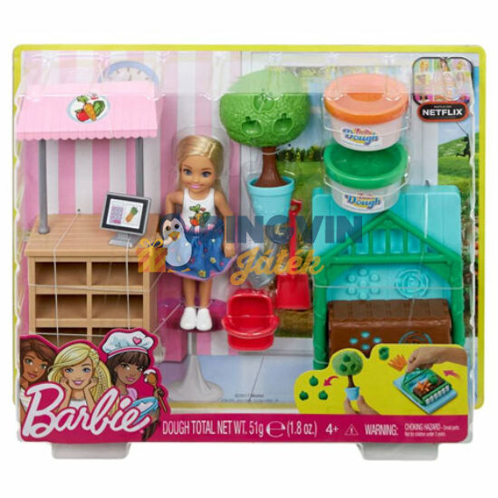 Barbie: Chelsea zöldséges kiskertje - Mattel