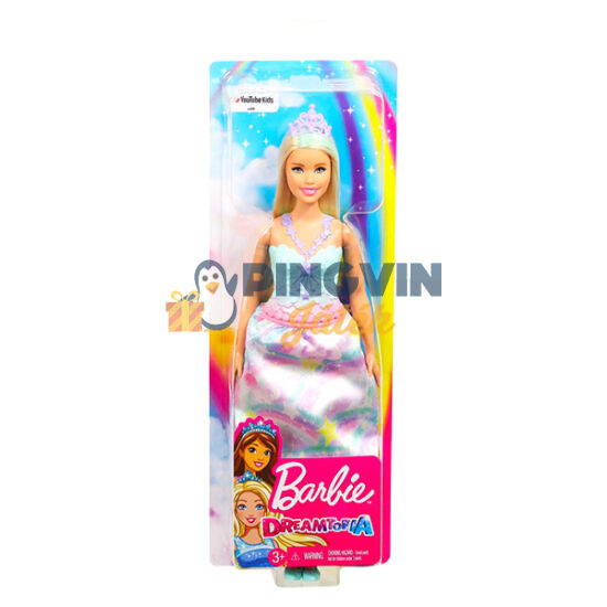 Barbie: Dreamtopia szőke hercegnő baba - Mattel