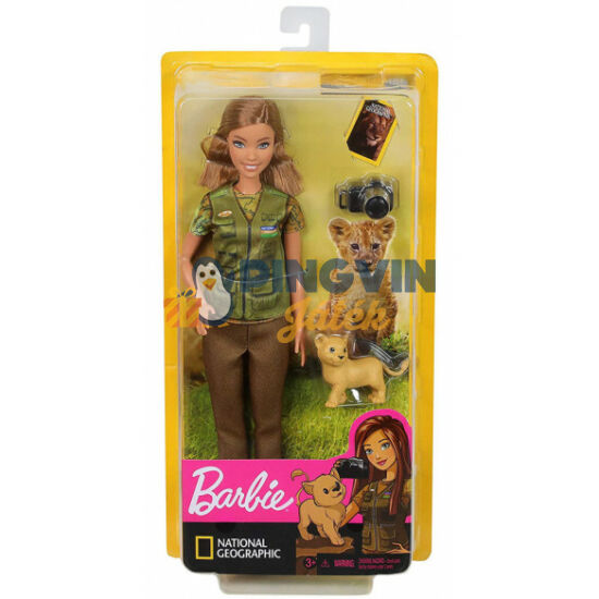Barbie: National Geographic baba - Mattel