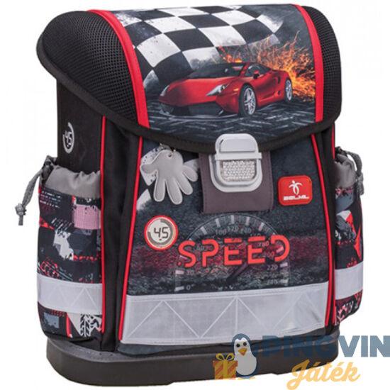 Classy Speed Versenyautós ergonomikus merevfalú iskolatáska 36 32 19 ... 0a184b02a7