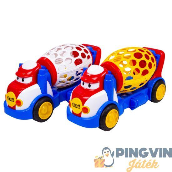 Betonkeverő autó bébijáték - 38 cm