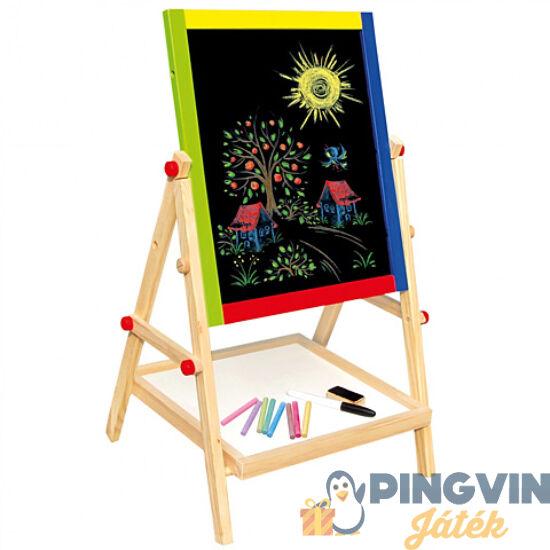 Bino Toys - Kétoldalú állványos rajztábla (83653)