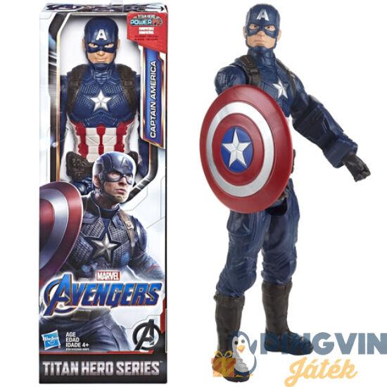 Bosszúállók - Endgame: Titan Hero Amerika Kapitány figura 30 cm-es - Hasbro