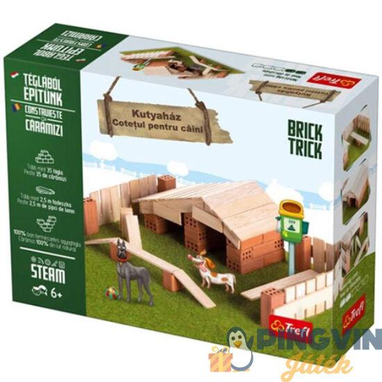 Trefl - Brick Trick Téglából építünk: Kutyaház építőjáték (60961)