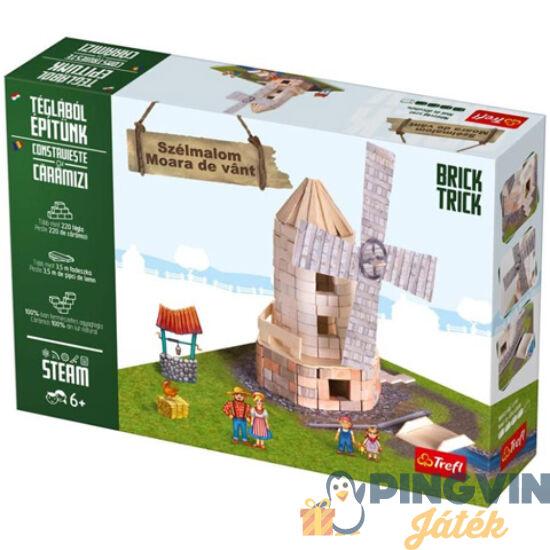 Brick Trick Téglából építünk: Szélmalom építőjáték - Trefl