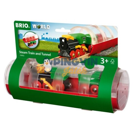 Brio Gőzmozdony alagúttal 33892