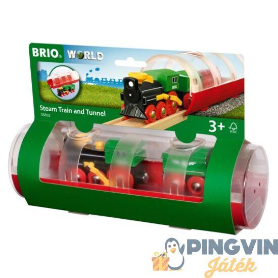 Brio - Gőzmozdony alagúttal 33892 (33892)