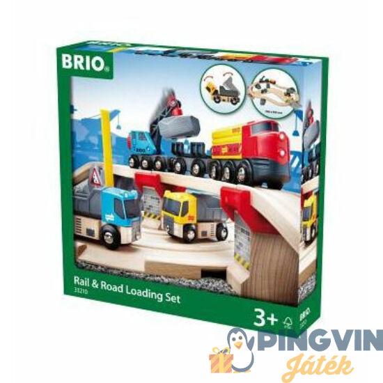 Brio Kőbánya sín és út szett 33210