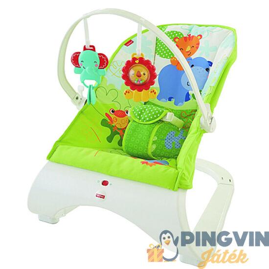 Fisher-Price - Esőerdős hajlított babafotel - Mattel