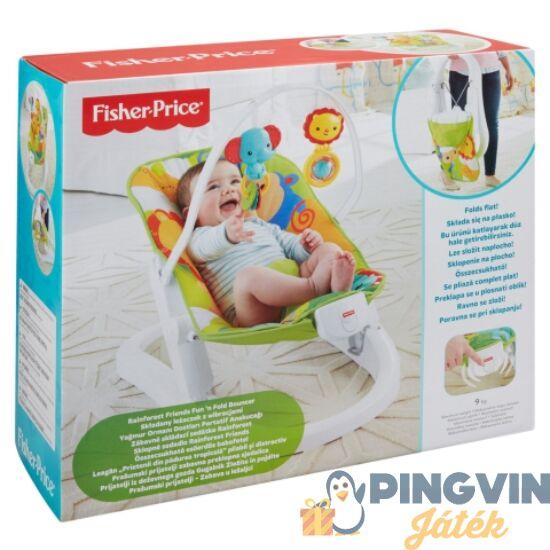 Fisher-Price - Esőerdős összecsukható babafotel - Mattel