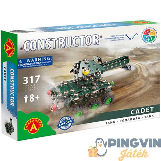 Cadet tank fém építőjáték 317db-os - Alexander Toys