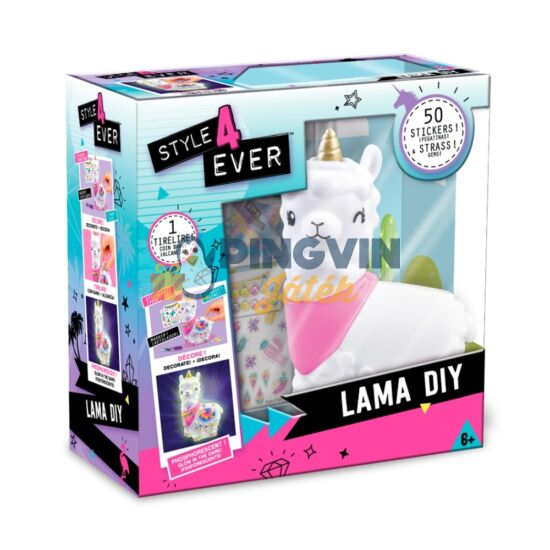 Canal Toys - Díszítsd Fel Láma Persely