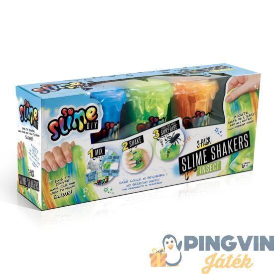 Slime Shaker 3 Db-Os, Fiús (Többféle) - Canal Toys