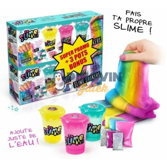 Slime Shaker 3+3 Db-Os Bónusz Csomag - Canal Toys