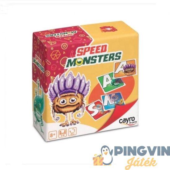 Cayro Speed Monster családi társasjáték