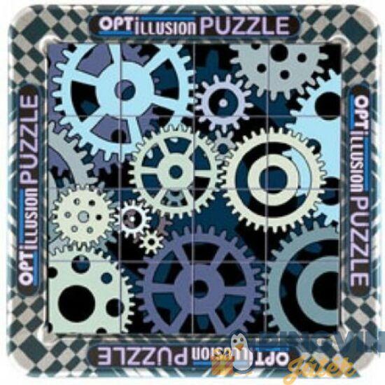 Cheatwell Games - Optillusion Fogaskerekek 16db logikai játék