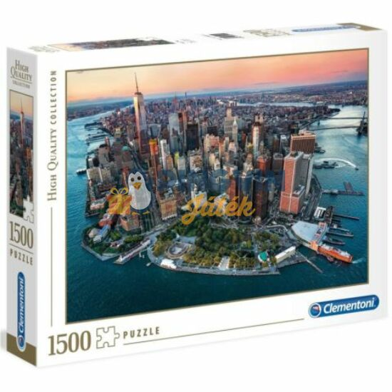 Clementoni -  New York 1500db-os puzzle - High Quality Collection
