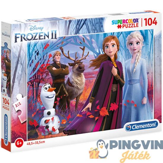 Clementoni - Disney Jégvarázs 2 Supercolor puzzle 104db-os (27274)