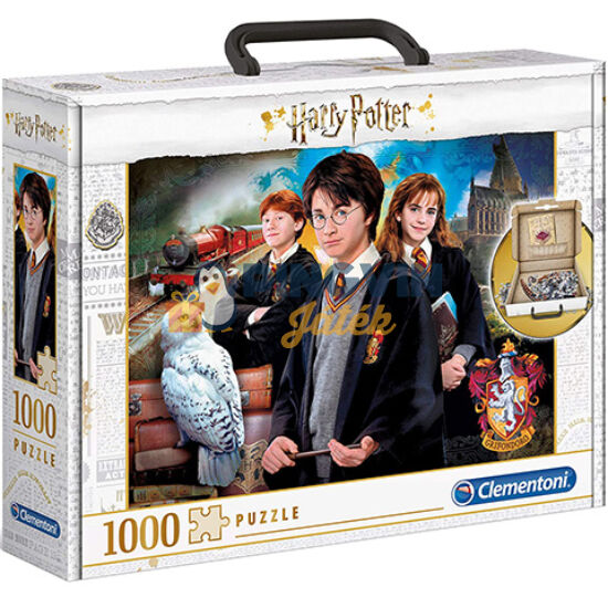 Clementoni - Harry Potter 1000db-os puzzle bőröndben