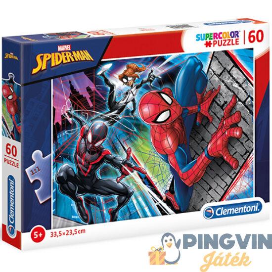 Clementoni - Marvel Pókember Supercolor puzzle 60db-os (26048)