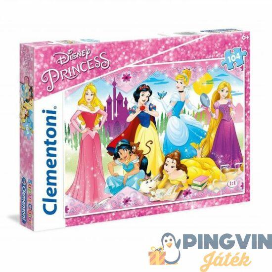 Clementoni - Hercegnők 104db puzzle (27086C)