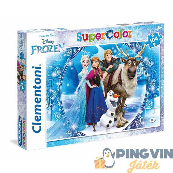 Clementoni Jégvarázs barátok 104db puzzle