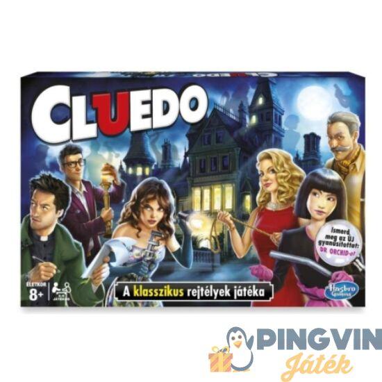 Hasbro - Cluedo - Klasszikus bűnügyi detektív társasjáték (38712)