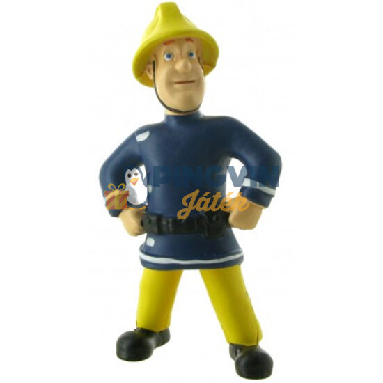 Comansi - Sam, a tűzoltó, Sam sisakkal játékfigura