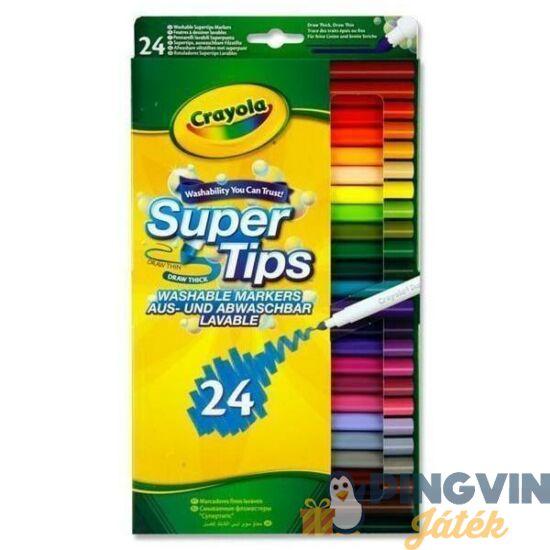 Crayola 24db kimosható vékony filctoll