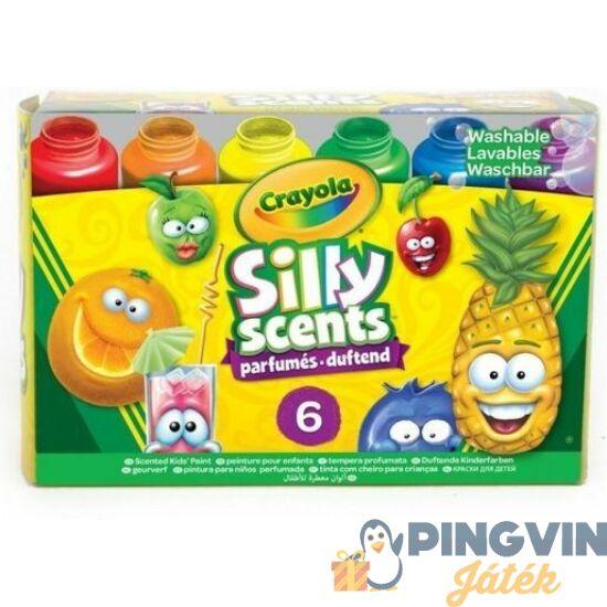 Crayola Szagos színek - Illatozó festék 6 db-os